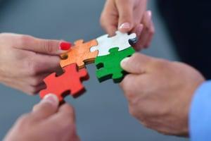 Personalization  is like assembling  a jigsaw puzzle